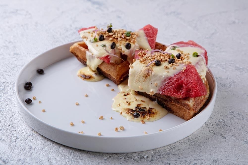 Салат с томатами и арбузом m фото
