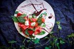 Салат с арбузом и сыром Рикотта