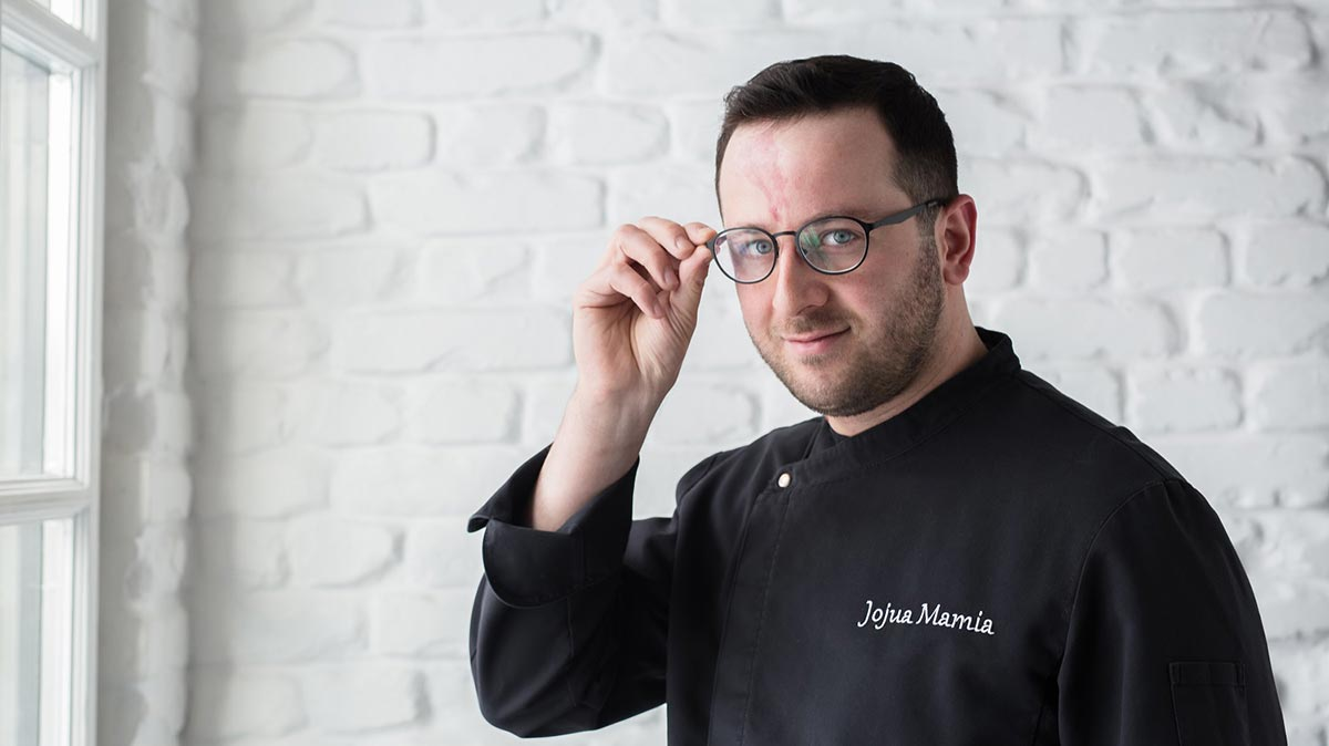 Шеф-повар ресторана «Казбек» Мамия Джоджуа фото