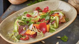 Запеченные осенние овощи и корнеплоды пошаговый рецепт с фото