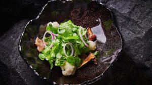 салат с грибами на гриле рецепт с фото