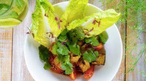 4. Баклажаны печеные с томатами и соусом Эбара пошаговый рецпт с фото