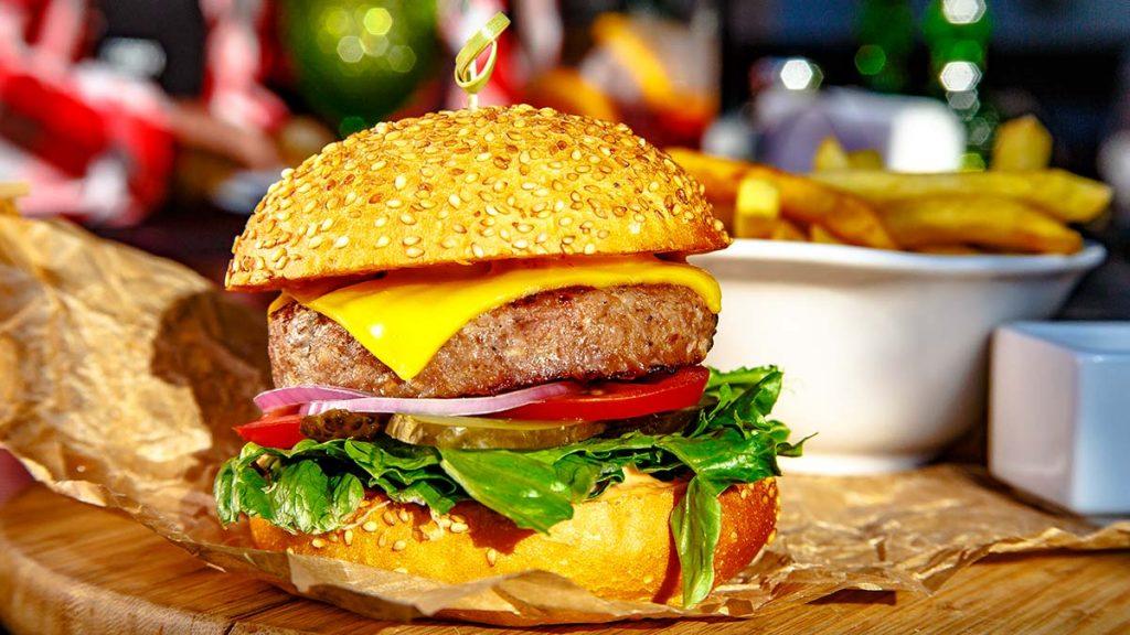 Рецепт правильного бургера из говядины