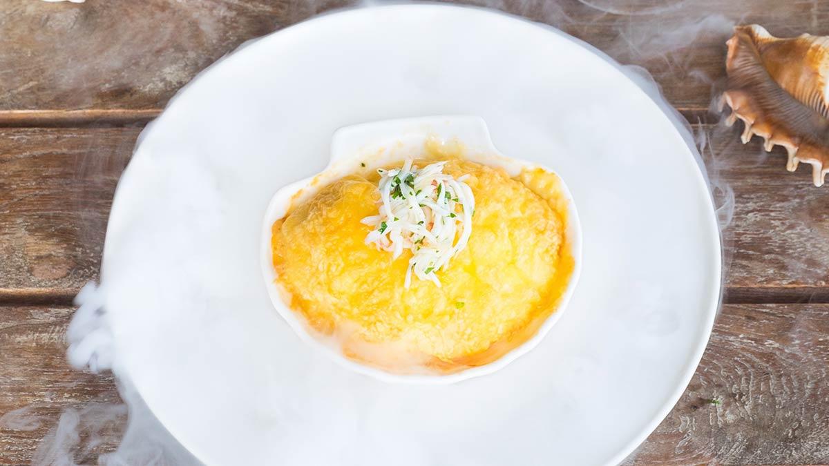 Рецепт жульена с крабом от шеф-повара ресторана пошаговый с фото