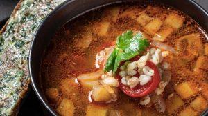 Суп из бараньих ребер с перловкой и баклажаном пошаговый рецепт с фото от шеф-повара ресторна