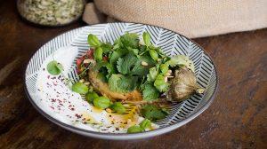 баклажан запеченный на гриле рецепт пошаговый с фото