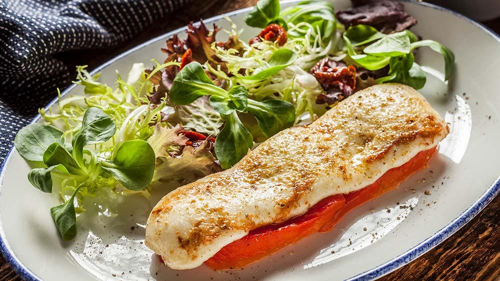 сулугуни со сладким перцем пошаговый рецепт фото шеф-повара ресторана