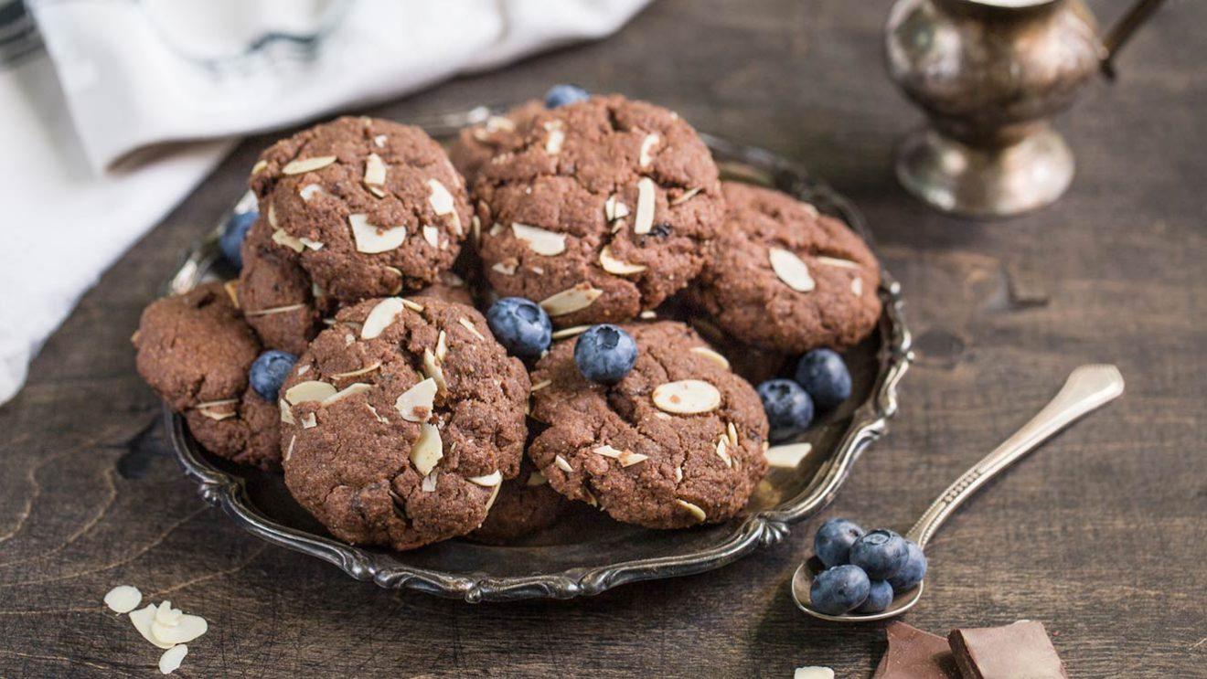 Шоколадное печенье фото