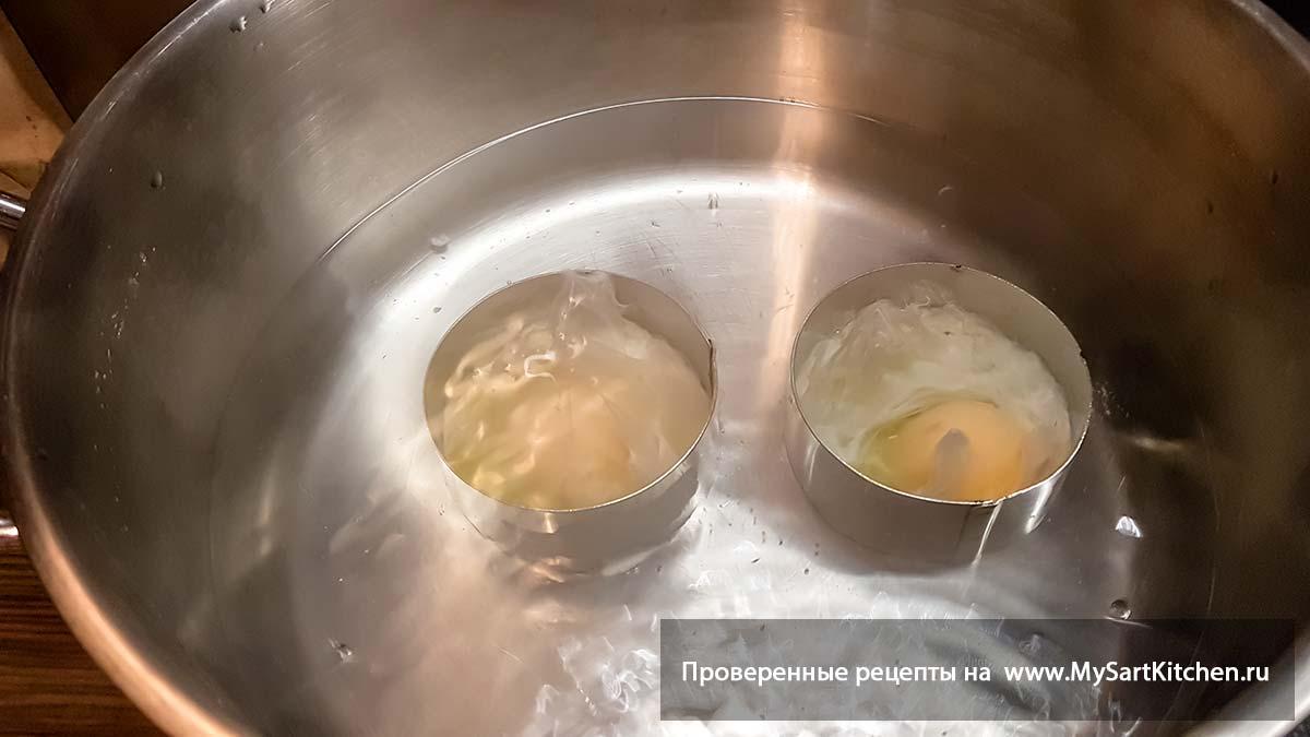 как готовят яйцо пашот рецепт1 фото