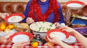как приготовить тазик оливье на новый год и не устатьр рецепт фото