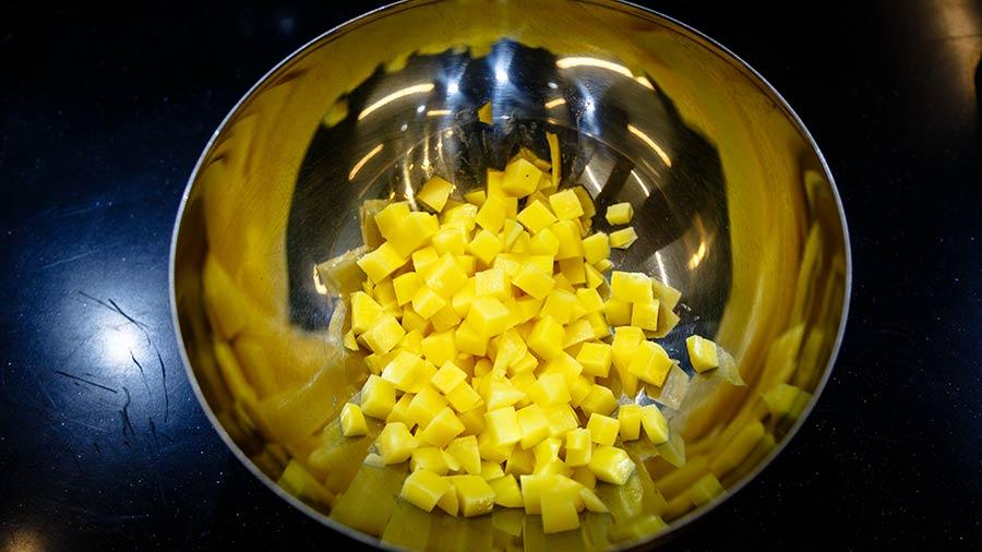 как варирь картофель для оливье фото