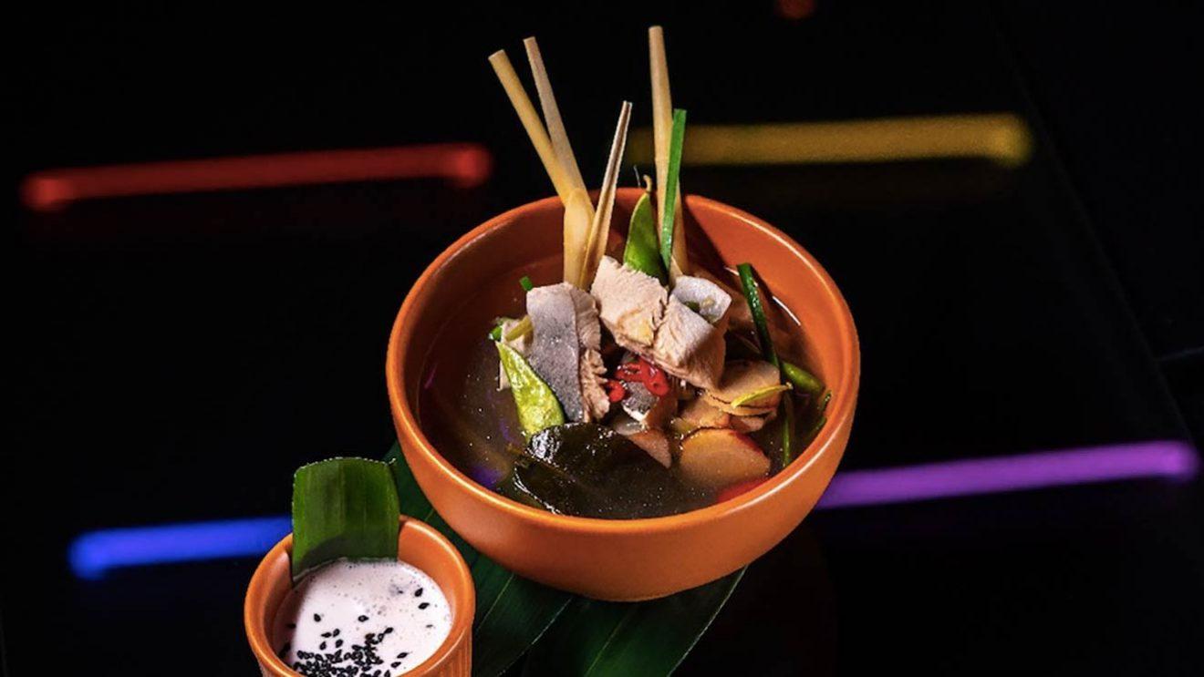 рецепт Том ям с янтарной форелью пошаговый фото шеф повар ресторана простой