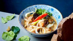 рецепт супа том ям с морепродуктами пошаговый с фото