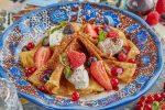 Блины по-австрийски от Андрея Макаева, шеф-повара ресторана Юлии Высоцкой Food Embassy