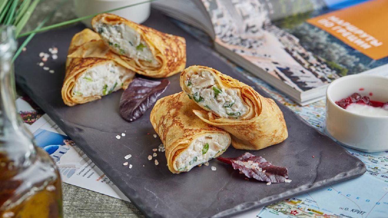 Рецепт блинов шеф повара ресторана высоцой блины по гречески