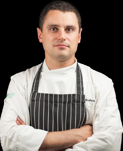 Владимир Сидоров шеф-повара ресторана «Черетто море»
