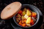Картофель томленый в горшочке с опятами