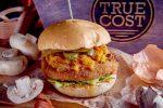 Постный бургер с хрустящей картофельной котлетой