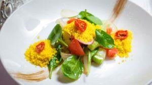 рецепт салата из овощей с кускусом