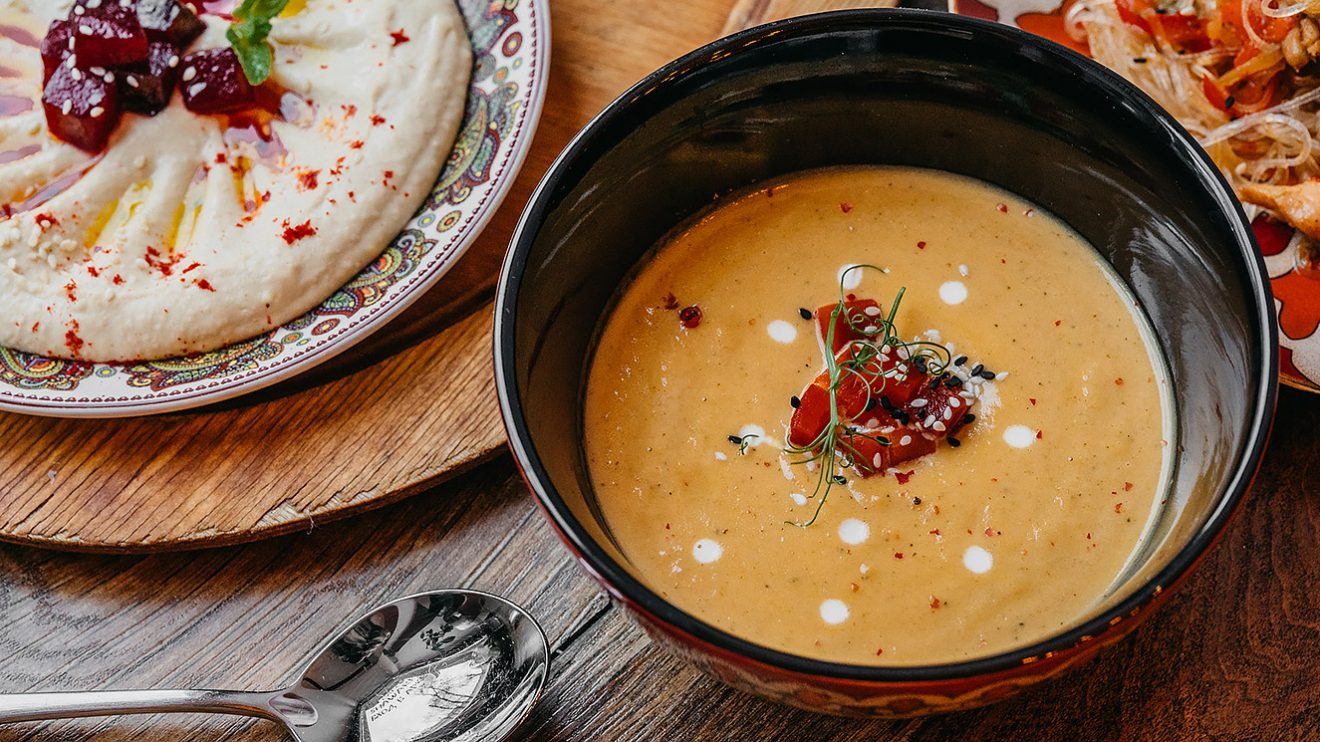 Рецепт супа из батата батада
