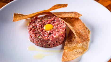 Классический тартар из говядины рецепт шеф повара ресторана